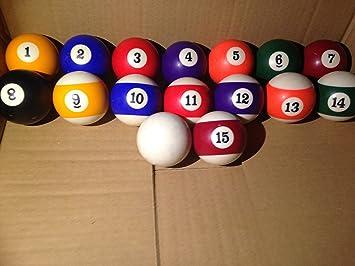 Riley American juego de bolas de billar, delete: Amazon.es ...