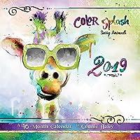 Color Splash Sassy Animals 2019 Calendar