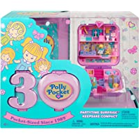 Mattel - Polly Pocket - 30th Anniversary Partytime Surprise Keepsake Compact