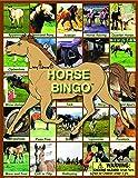 Horse Bingo Board Game