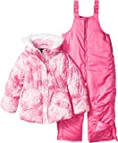 Rothschild Little Girls' Snowsuit With Printed Puffer Coat