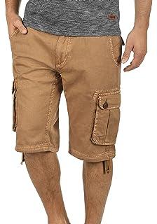 Solid Vizela Pantalón Cargo Bermudas Pantalones Cortos Para Hombres De 100% Algodón Regular-