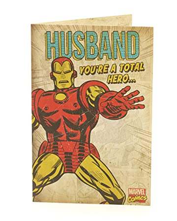 Amazon.com: Tarjeta de cumpleaños para marido – Tarjeta de ...