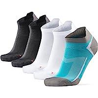 DANISH ENDURANCE Calcetines de Running Deportivos Low Cut Pro, para Hombre y Mujer, Cortos, Antideslizantes, Invisibles…