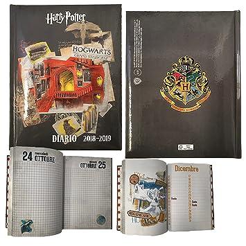 Harry Potter diario agenda Fecha - Escuela 2018 - 2019 ...