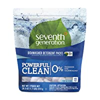 Deals on 45-Ct Seventh Generation Fragrance Free Dishwasher Detergent