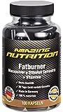 Fatburner mit Macapulver + Tribulus Terrestris + Grün Tee Extrakt + Traubenkern-Extrakt (OPC) + Koffein + Pfeffer-Extrakt + Vitamine (B1, B2,B6, B12) + Folsäure + Pantothensäure und Niacin) - 100 Kapseln - schnell abnehmen -ideal für die Diät und unterstützt die Fettverbrennung und Stoffwechsel - Natürlich abnehmen - mehr Energie - stiegert die Libido und Lust - Made in Germany