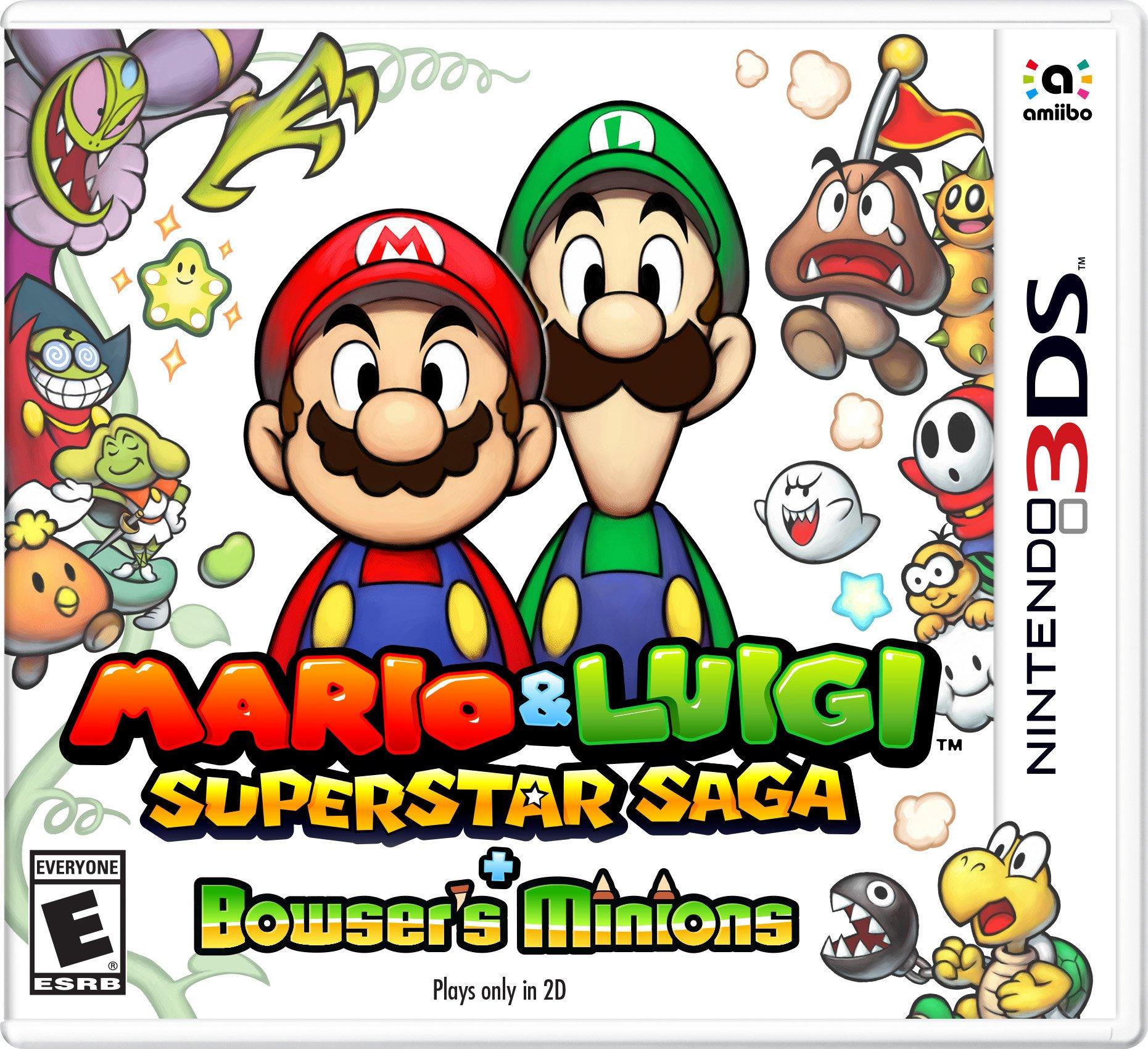 Mario & Luigi Superstar Saga + Bowser's Minions - 3DS [Digital Code]