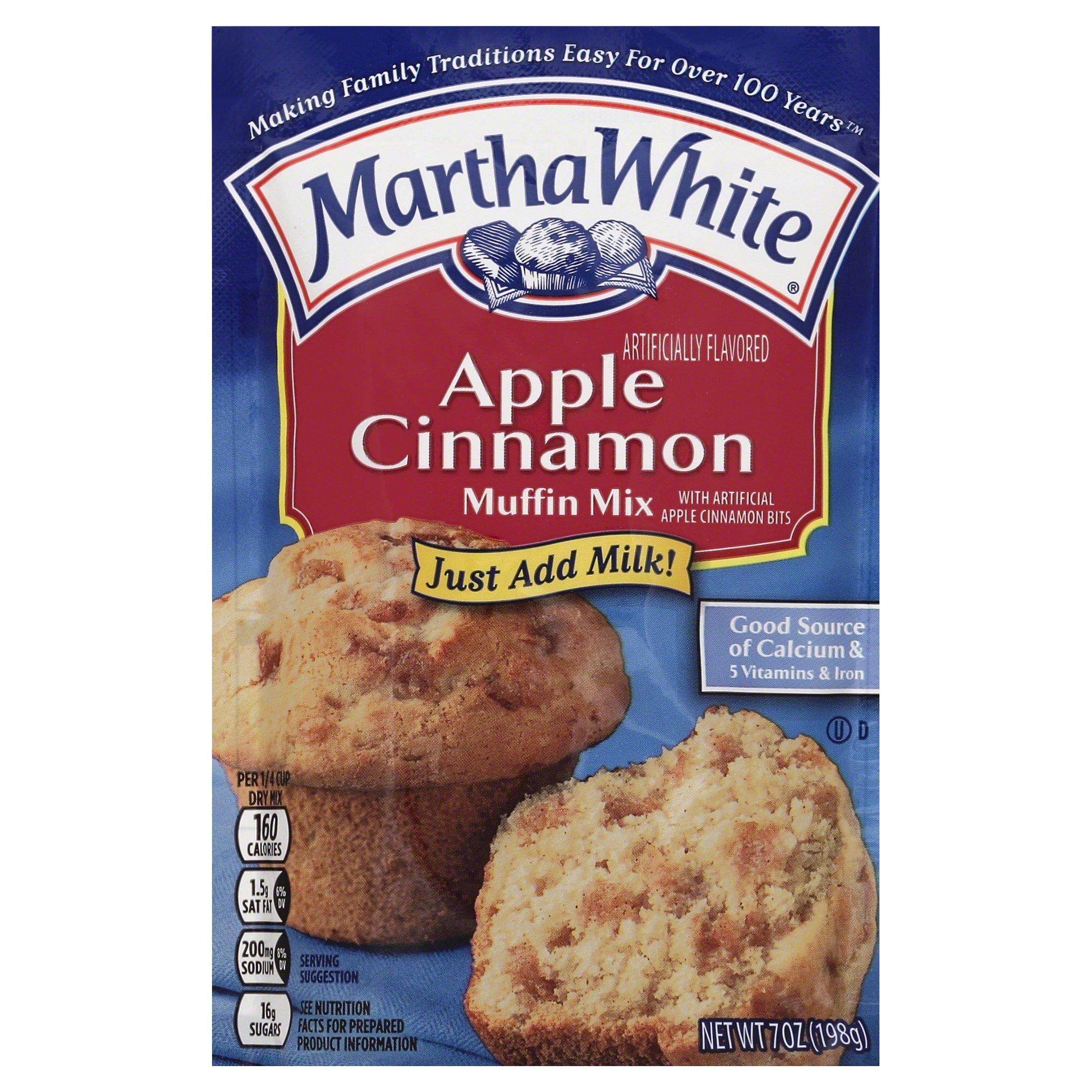 Martha White Apple Cinnamon Muffin Mix, 7 oz
