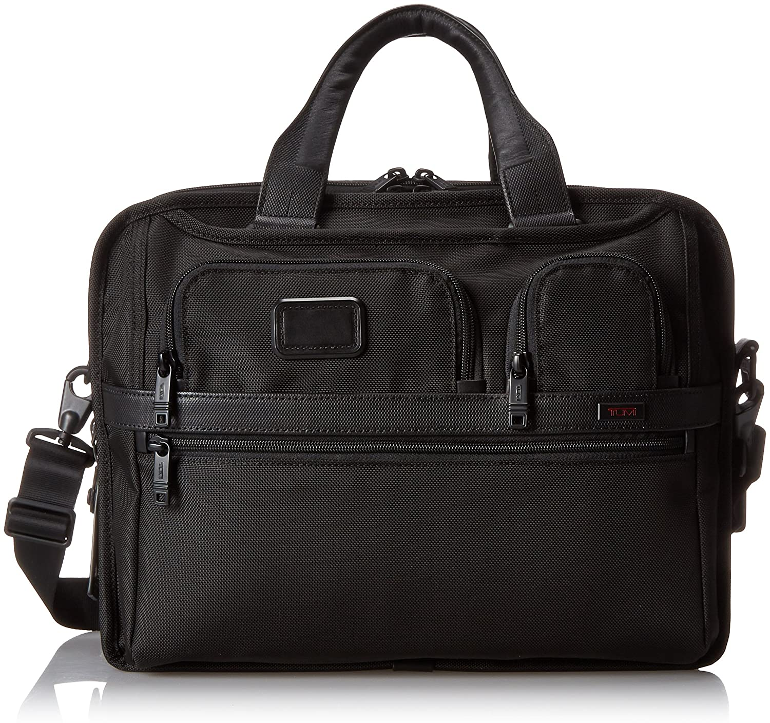 Amazon.com: Tumi Alpha 2 T-Pass and Reg Expandable Laptop Brief ...