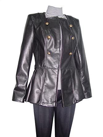 c4f4d5e204d NETTAILOR Big and Tall Women Plus 4098 Leather Long Blazer Jackets at Amazon  Women s Clothing store