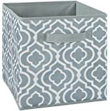 ClosetMaid 1842 Cubeicals Fabric Drawer, Iron Gate Gray Print