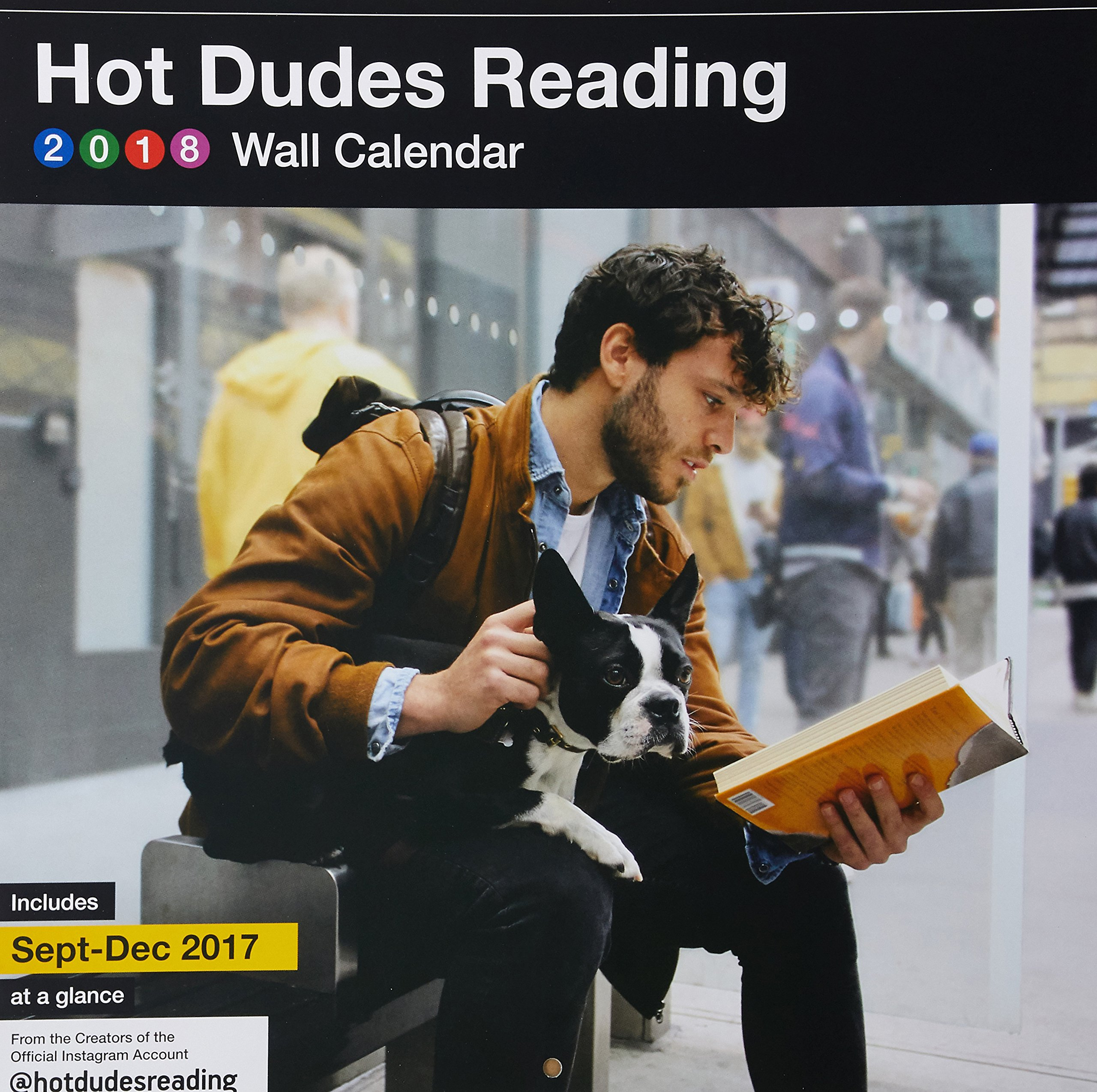 Dudes Reading 2018 Wall Calendar product image
