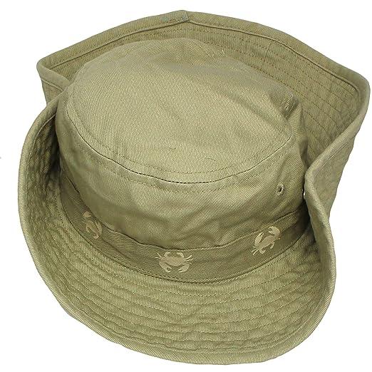 6d50fde49be Amazon.com  Carter s Safari Outdoor Bucket Infant Boys Sun Hat Khaki Beige  100% Cotton 12-24M  Baby