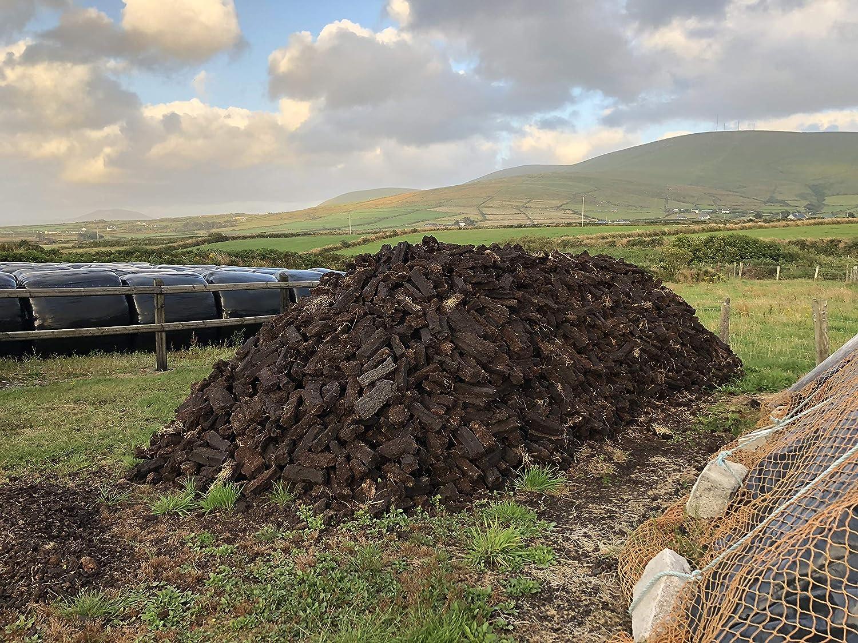 Black Sod Irish Peat Turf Approx 14 lbs