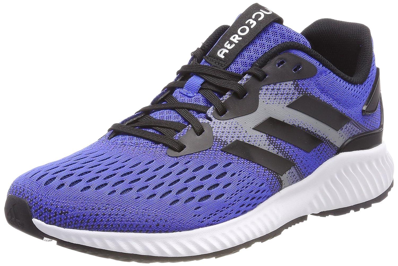 Adidas Aerobounce M, Zapatillas de Trail Running para Hombre 43 1/3 EU Azul (Azalre/Negbás/Negbás 000)