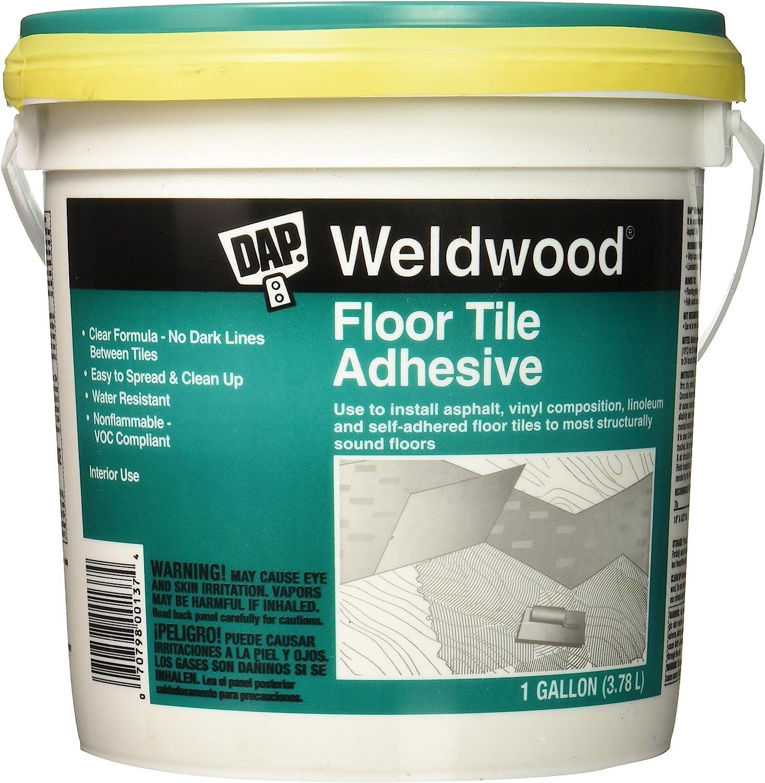 Dap 00136 Weldwood Floor Tile Adhesive 1 Quart Hardware Sealers