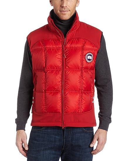 Canada Goose Men's Hybridge Vest,Red,M