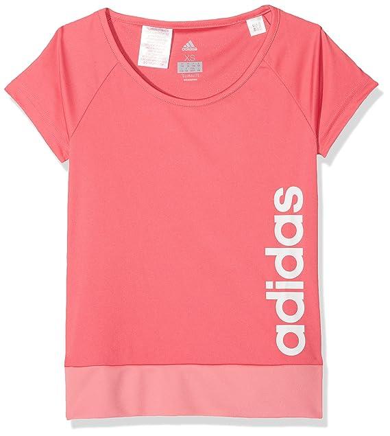 adidas Yg Gu tee Camiseta, Niñas: Amazon.es: Ropa y accesorios