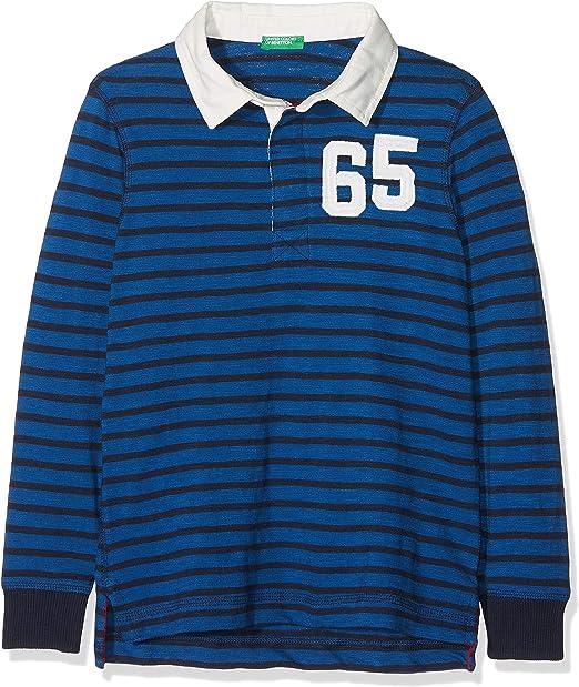 United Colors of Benetton L/s Polo Shirt (Beige 602), 140 (Talla ...