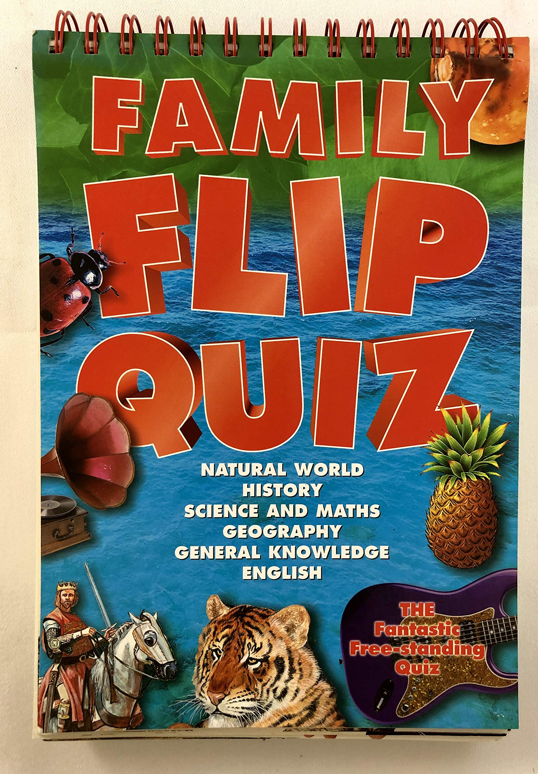 Family Flip Quiz - Natural World, History, Science and Maths