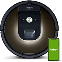 iRobot Roomba 981 Robot Vacuum-Wi-Fi Connected Mapping, Works with Alexa, Ideal for Pet Hair, Carpets, Hard Floors…