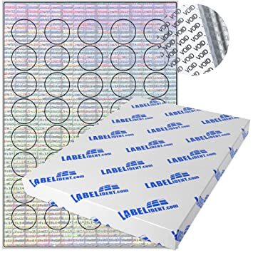 DIN A4 Bogen Polyester silber beschichtet 25 Blatt rechteckig permanent haftend matt 2200 Aufkleber Labelident Sicherheits-Etiketten 40 x 12 mm