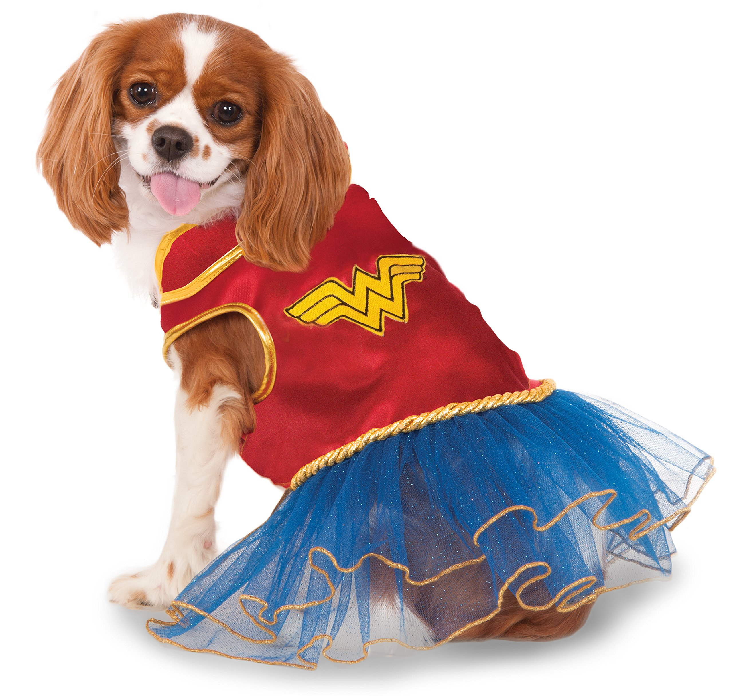 DC Comics Wonder Woman Pet Tutu Dress, X-Large