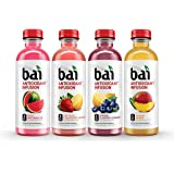 Bai Flavored Water, Oasis Variety Pack, Antioxidant Infused, 18 Fluid Ounce Bottles, 12 Count, 3 each of Burundi…