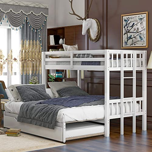 Twin Over Pull-Out Bunk Bed