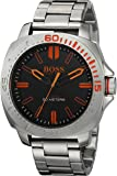 Hugo Boss Herren-Armbanduhr Armband Edelstahl + Gehäuse Quarz Zifferblatt Braun Analog 1513296