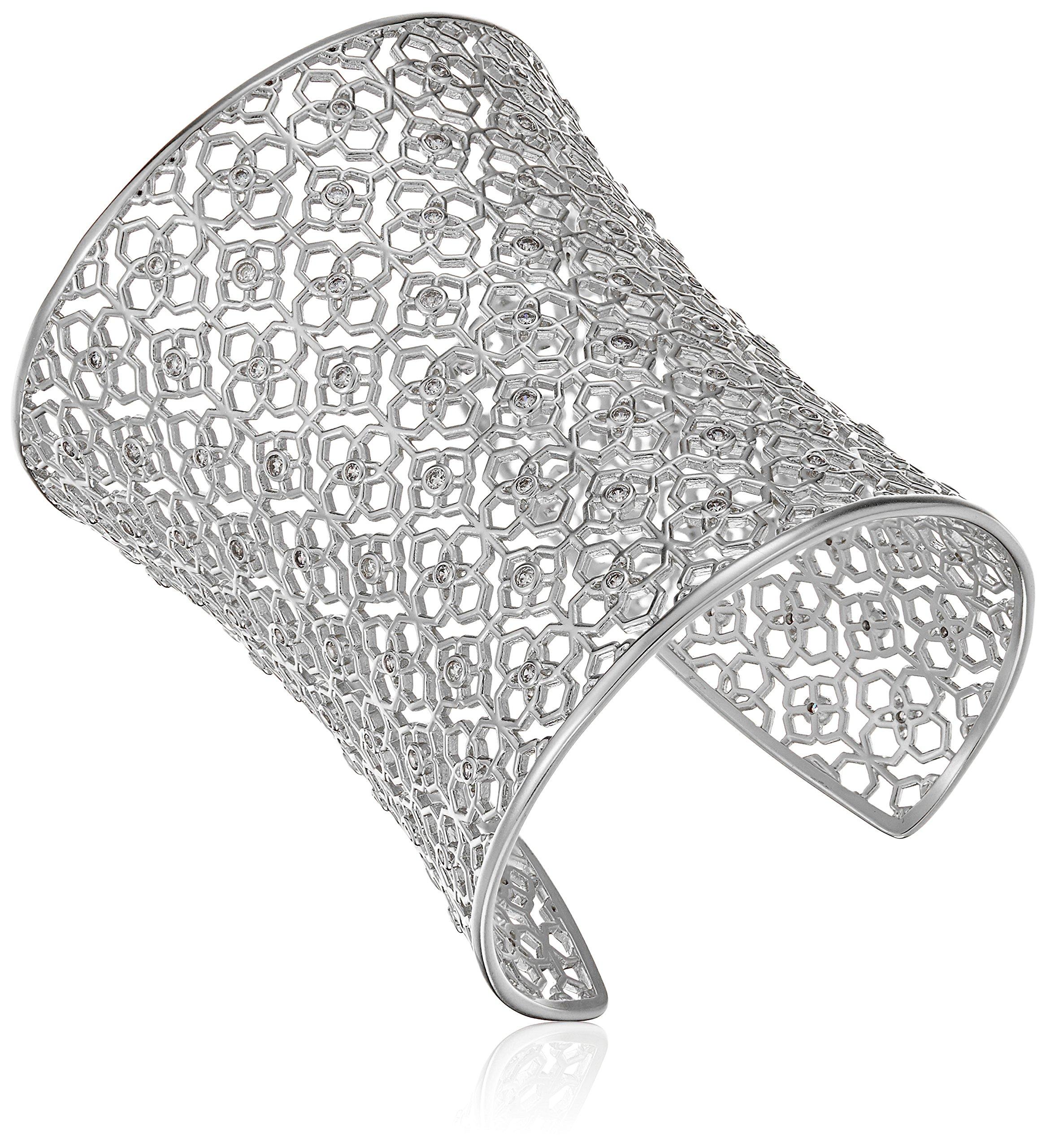 Kendra Scott Jude Antique Silver Metal Bracelet