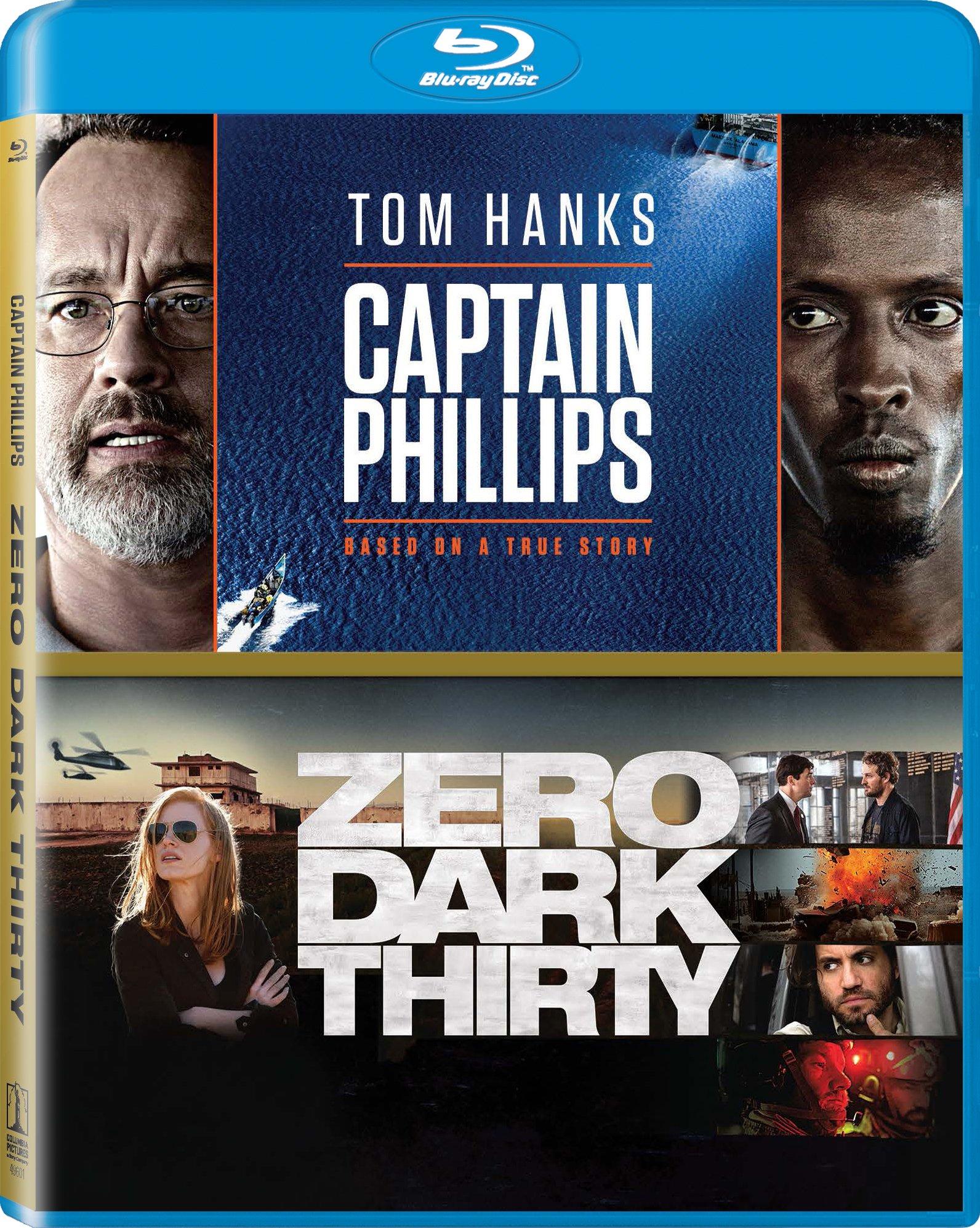 Blu-ray : Captain Phillips / Zero Dark Thirty (Widescreen, Dubbed, , 2 Pack, 2 Disc)