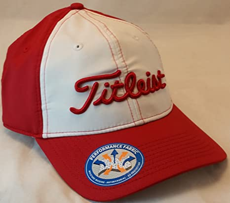 Image Unavailable. Image not available for. Color  Titleist Footjoy ProV1  Contrast Stitch Hat Red 6795ba61d1e