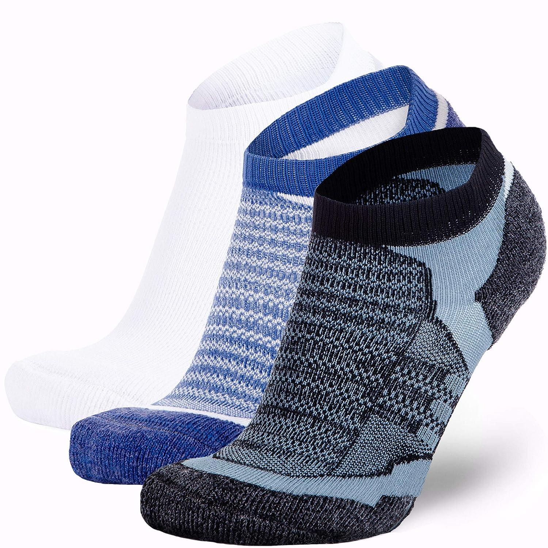 Low Cut Cushioned Athletic Running Sock Moisture Wicking Merino Wool Socks Men and Women