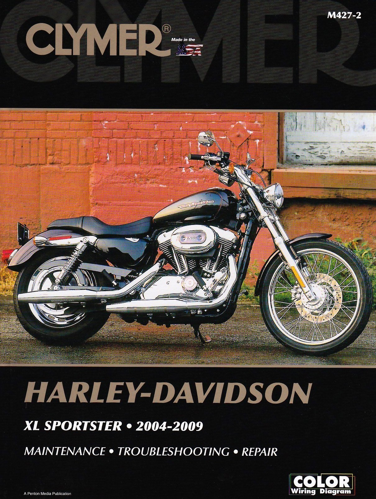 04 Harley Sportster Wiring Diagram Library 1980 Davidson Xlh 1000 Clymer Xl 2004 2009 Motorcycle Repair Mike