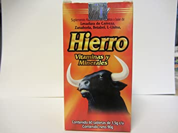 Hierro y Vitaminas, Dietary Supplement