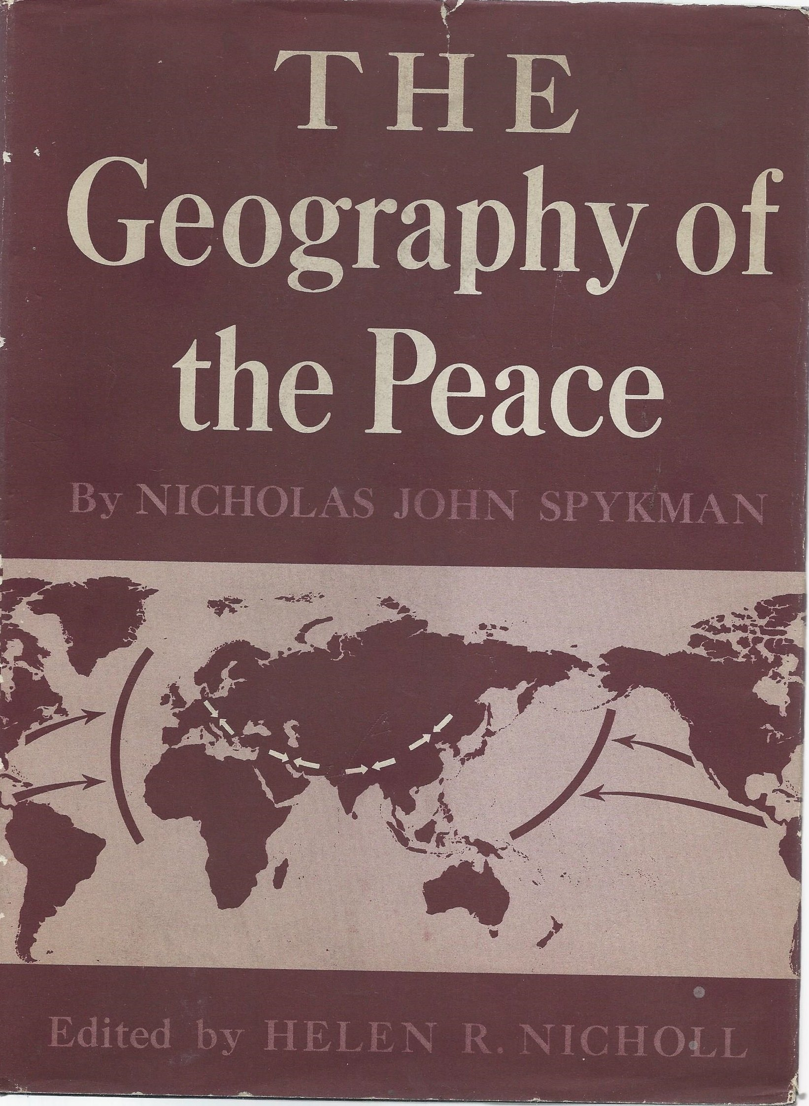 The cover for Geography of Peace