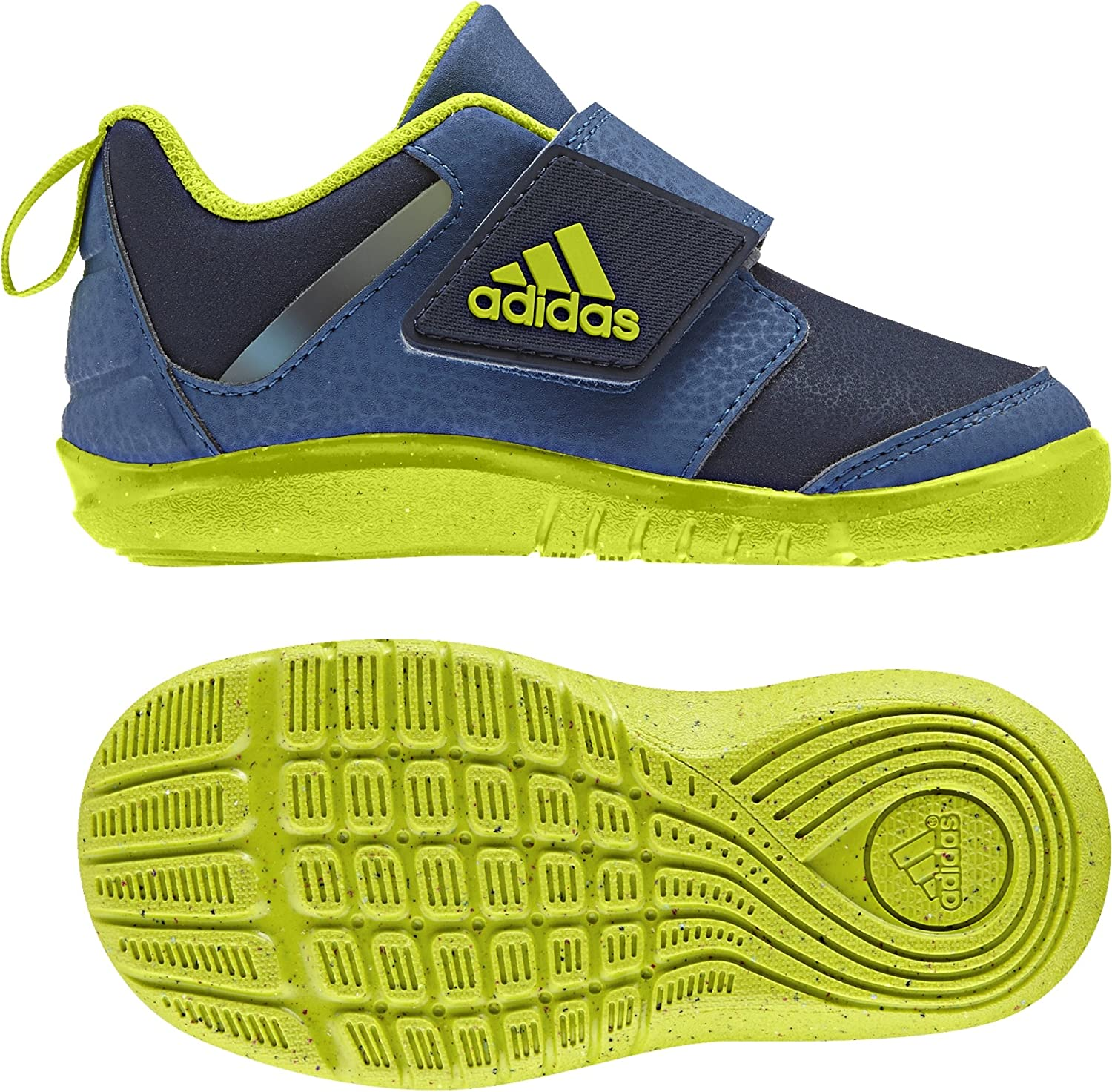 abrazo honor consumidor  adidas Unisex_Baby Fortaplay Ac I Open Back Slippers, Blue Azubas Seamso  Maruni, 6.5UK Child: Amazon.co.uk: Shoes & Bags