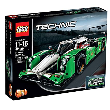 Amazon.com: LEGO Technic 24 Hours Race Car: Toys & Games
