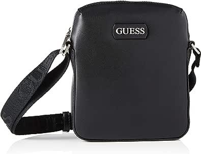Guess Dan PU Mini Document Case, Bags Briefcase para Hombre, Negro, Talla única