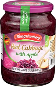 Hengstenberg Cabbage Red Apple, 24 oz