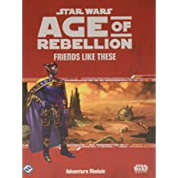 Fantasy Flight Games SWA41 Age of Rebellion: Friends Like These Board Game