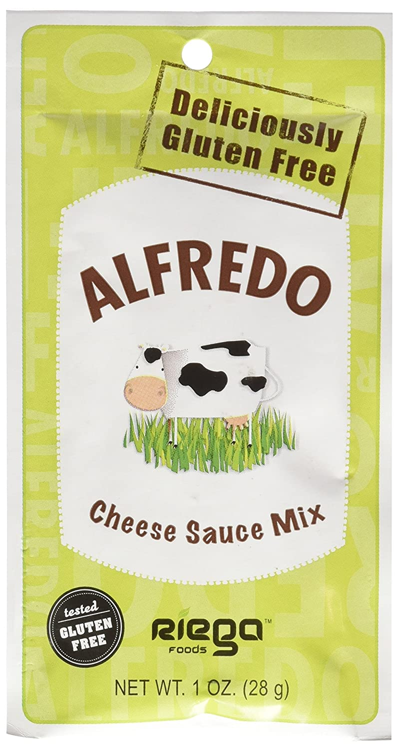 Riega Alfredo Cheese Sauce Mix, 1 Ounce (Pack of 8)