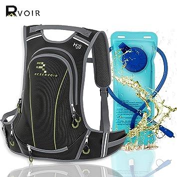Amazon.com: RVOIR Mochila de hidratación de alta capacidad ...