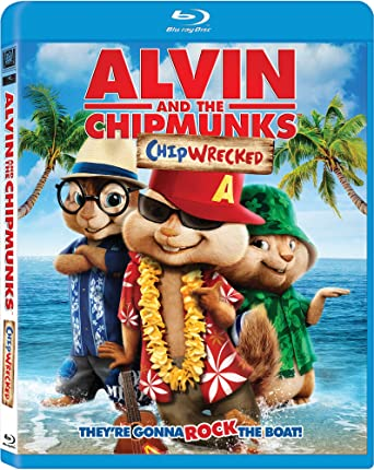 amazon com alvin and the chipmunks 3 chipwrecked blu ray dvd