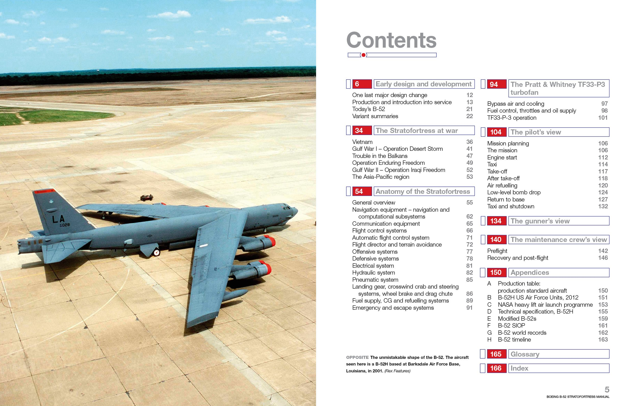 Boeing B-52 Stratofortress: 1952 onwards (all marks) (Owners' Workshop  Manual): Steve Davies: 9780857332592: Amazon.com: Books