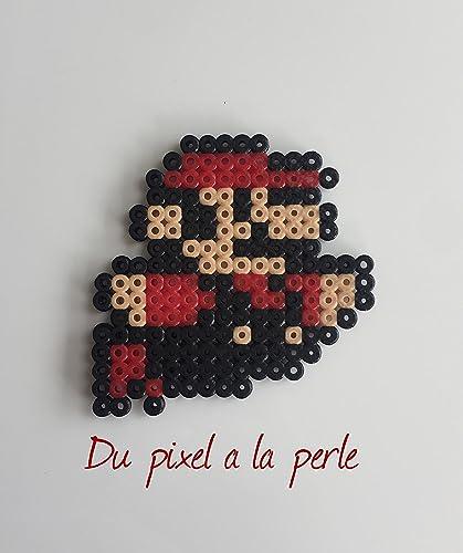 Perler Perles Art En Pixel Mario Beads Hamamagnet Petit Smb Z0xgA
