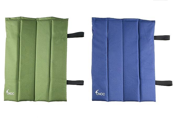 CNOC almohada de viaje & cojín de asiento plegable - ideal para practicar senderismo, acampar y estadio: Amazon.es: Deportes y aire libre