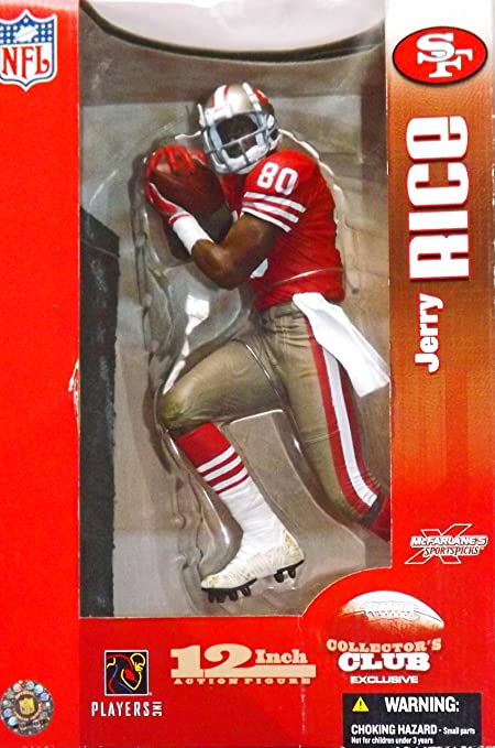 fcbd499f0 McFarlane Toys NFL Sports Picks 12 Inch Deluxe Action Figure Jerry Rice (San  Francisco 49ers